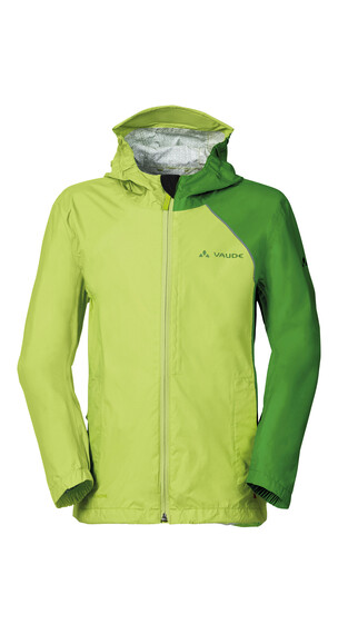 VAUDE Grody III fietsshirt Kinderen geel/groen